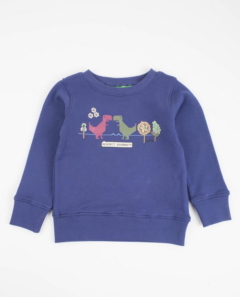Blauvioletter Sweater - ZulupaPUWA - Unisex - ZulupaPUWA